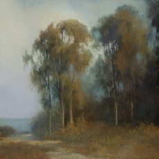 California Eucalyptus by Jannen Behl / 12x18 / Pastel on Sanded Paper