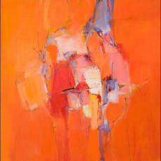 artist, Karin Aggeler, painter, abstract, Primavera Gallery, Ojai, CA