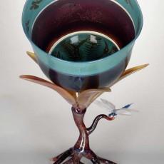Glass, artist, Robert Mickelsen, Primavera Gallery, Ojai