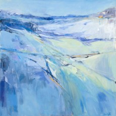Artist, Abstract, Karin Aggeler, Painter, Primavera Gallery, Ojai, California