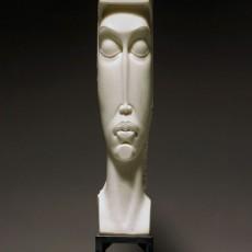 """Temple"" by Bela Basci / Marble Sculpture"
