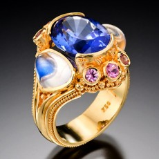 Jewelry, Artist, Kent Raible, primavera gallery, fine art, Ojai, California