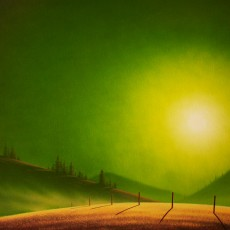 Green Gold by Adam Licsko / 30x48 / Oil on Canvas