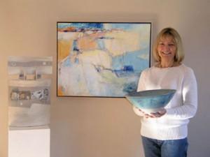 Abstract Artist Karin Aggeler, Portrait