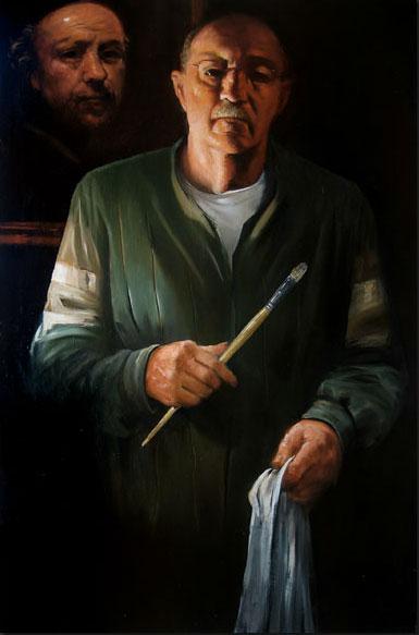 Artist, Painter, Michael Dvortcsak, Museum Suite, Primavera Gallery, Ojai, CA