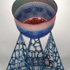 Glass, Artist, Robert Mickelsen, Primavera Gallery, Ojai, CA
