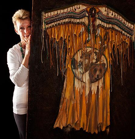 Artist Sharon Butler, Painter, Primavera Fine Art Gallery, Ojai
