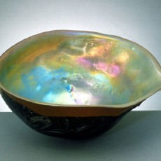 Glass, Artist, Josh Simpson, Primavera Gallery, Ojai, CA, Mega Planets