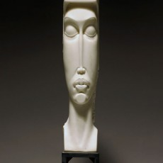 """Temple"" by Bela Basci / Marble Sculpture"
